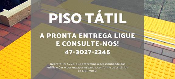 Foto piso tatil direcional para pessoas com deficiência visual conforme decreto-lei 5296